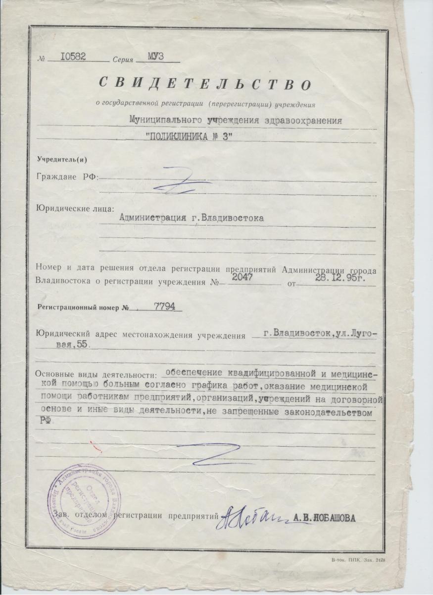 1-Свидетельство о госрегистрации  учреждения-1